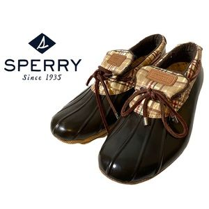 Sperry Top Sider Saltwater Low Top Duck Boots